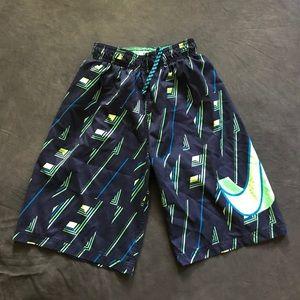Boys size large Nike swim trunks